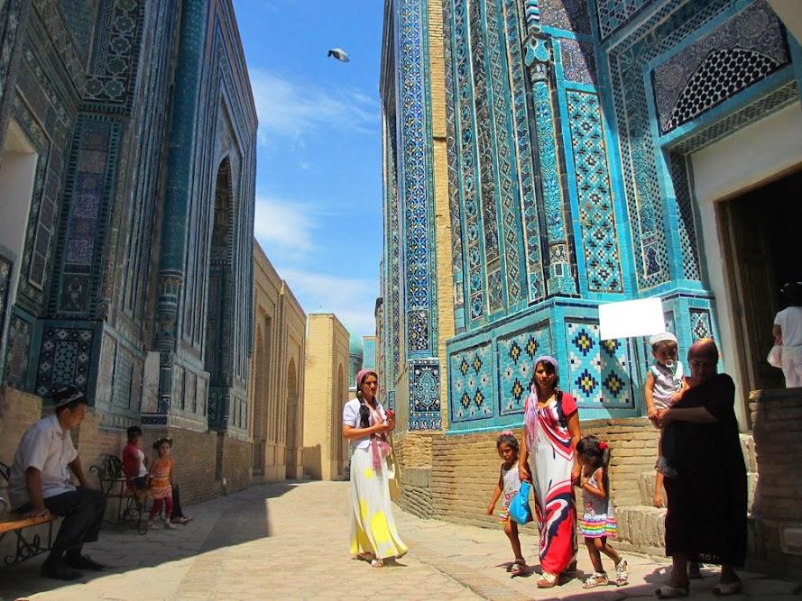 SAMARCANDA, a capital de impérios e da Rota da Seda   Uzbequistão