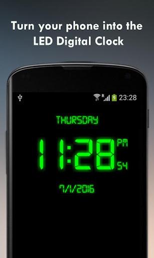 Digital Clock - LED Watch 2.1 screenshots 1