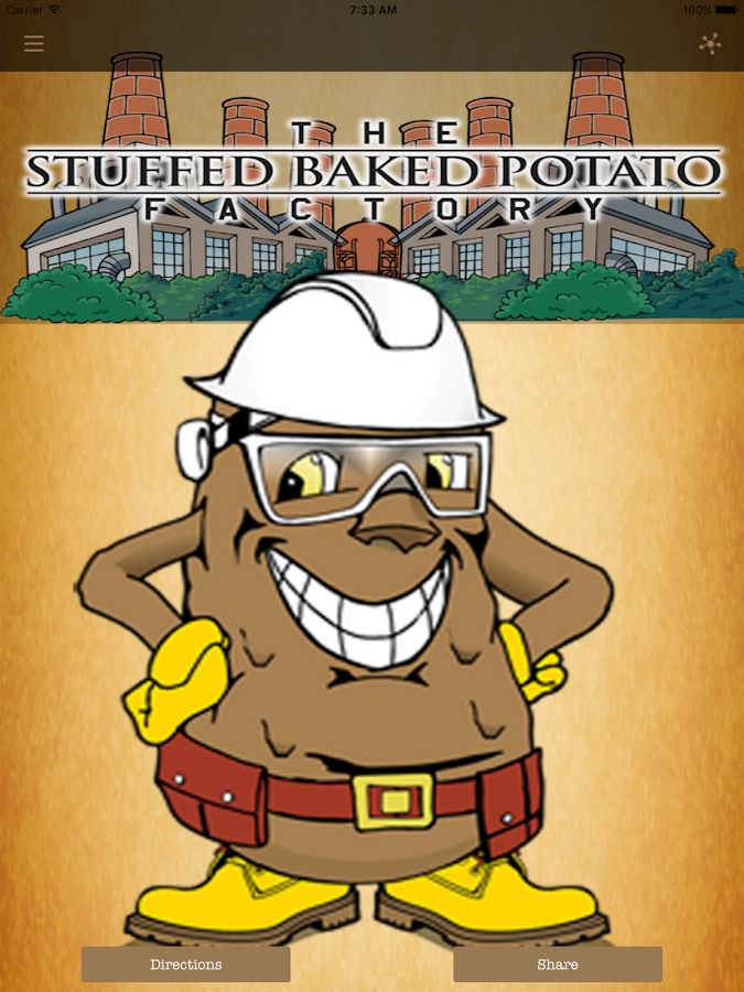 Stuffed Baked Potato Factory- screenshot