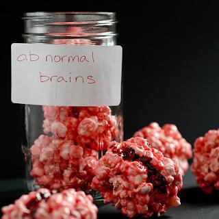 """Brainy"" Popcorn Balls"