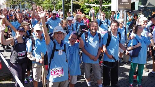 Trail du Sancy - Défi relevé pour le projet de L'Arche à Clermont-Ferrand