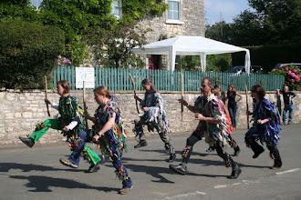 Photo: Bristol Rag Morris performing for the Priston Festival.© Richard Bottle 2008
