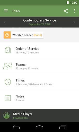Planning Center Services 3.11.9 screenshots 2