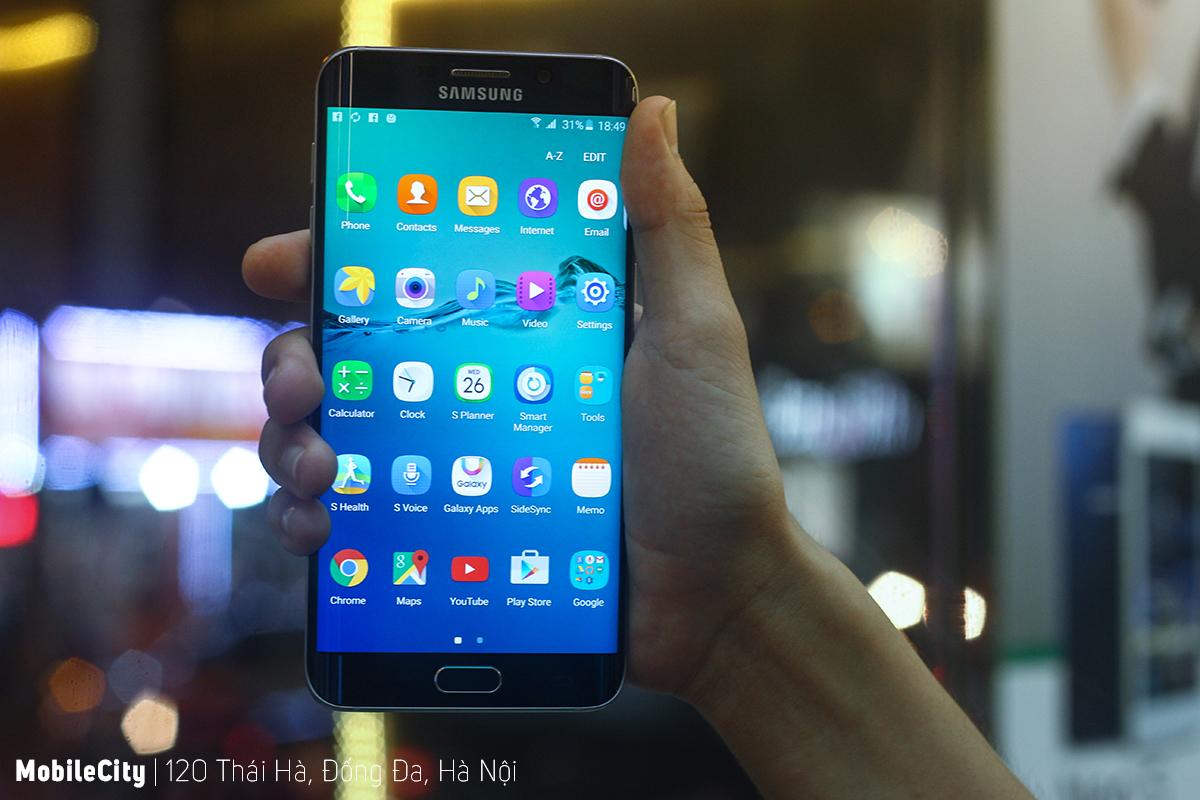 Thiết kế bề ngoài của Samsung Galaxy S6 Edge
