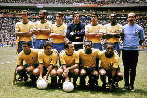 Brazil world cup team 1970