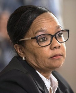 Western Cape deputy judge president Patricia Goliath. The judicial conduct committee has recommended that complaints made against her be investigated by the judicial conduct tribunal.