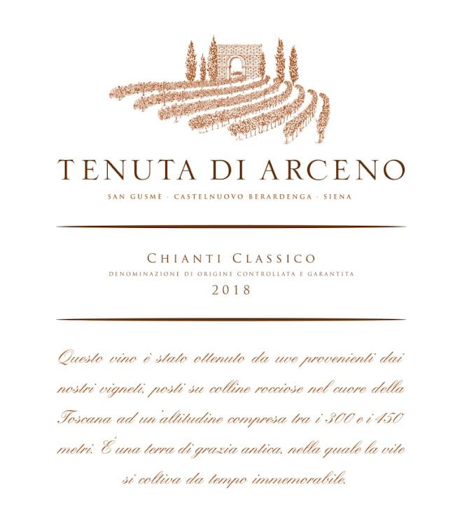 Logo for Tenuta di Arceno Chianti Classico