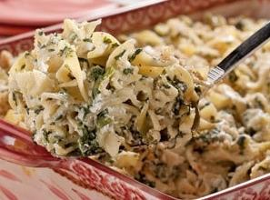 Note: you can substitute chopped,thawed spinach for the broccoli slaw and use different pasta...enjoy!