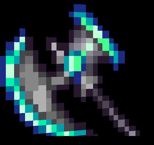 Terraria: Vortex Hamaxe | Nova Skin