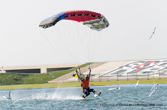 Photo: Guillaume Bernier en Pilotage sous Voile à Dubai pour les 4ème DIPC 2013