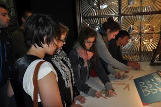 Photo: Pokoušíme se stavět modely Leonarda da Vinci.