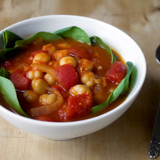 Spanish Chickpea, Tomato And Ginger Stew
