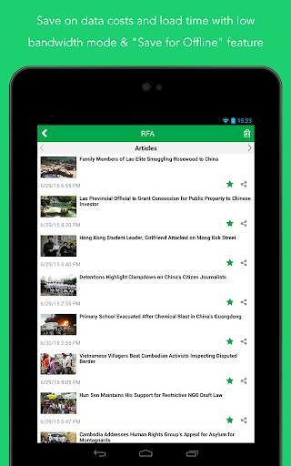 Radio Free Asia (RFA) 3.3.1 Screenshots 22