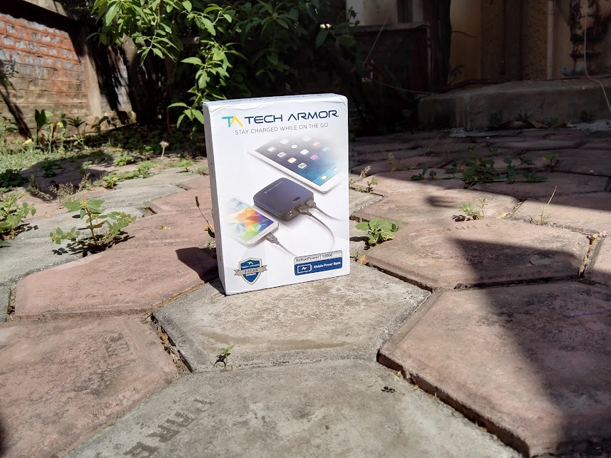 unboxing techarmor portable powerbank 12000 mah reliable review