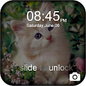 Kitty Sweet Theme Lock icon