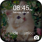 Blocco tema Kitty dolce icon
