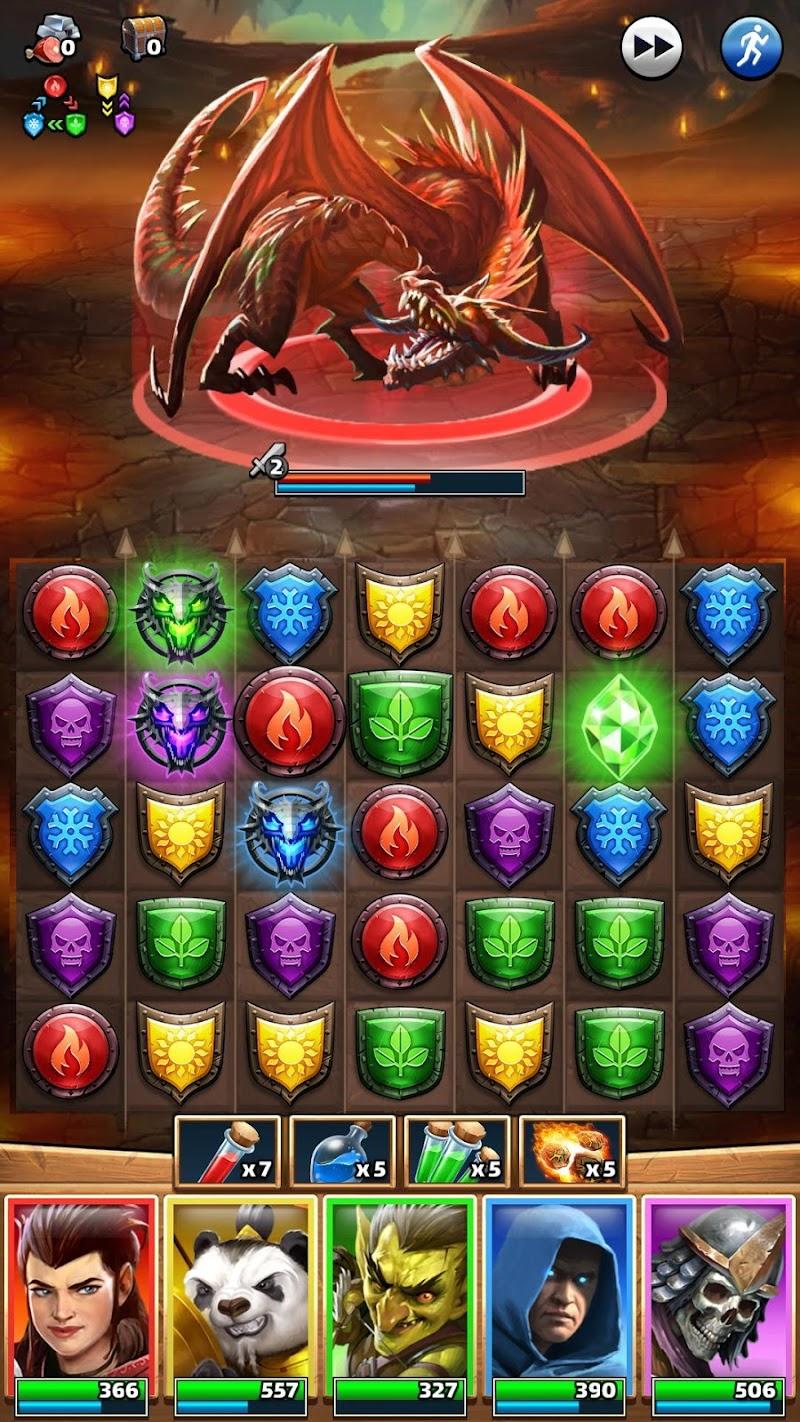 Empires & Puzzles: RPG Quest Screenshot 6
