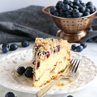 Best Ever Blueberry Ricotta Coffee Cake.
