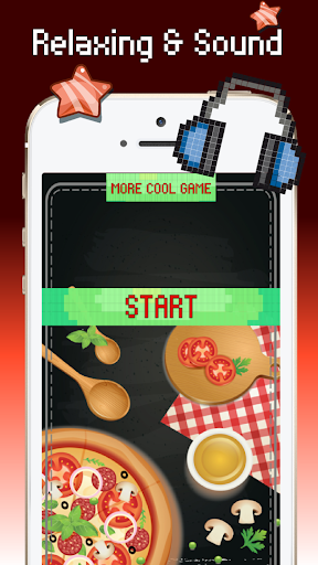 Food color by number : Pixel art coloring 1.3 screenshots 1