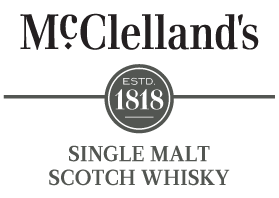 Logo for Mcclelland's Islay Scotch Whisky | Xyr