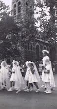 Photo: 1946 May Procession_St Cypriann Parish