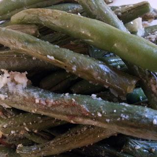Baked Parmesan Green Beans
