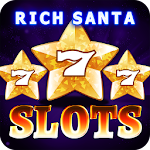 Rich Santa Slots Free Casino Icon