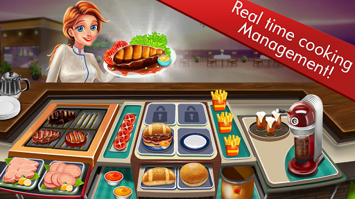 Chefu2019s Restaurant Cooking Fun Game 1.6 APK MOD screenshots 2