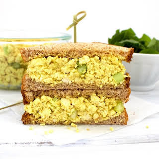 Vegan Egg Salad (Low-Carb, Gluten-Free, Oil-Free!).