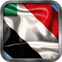 Sudanese Flag Live Wallpaper icon