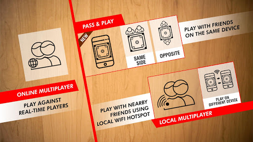 Real Carrom - 3D Multiplayer Game by Nextwave Multimedia