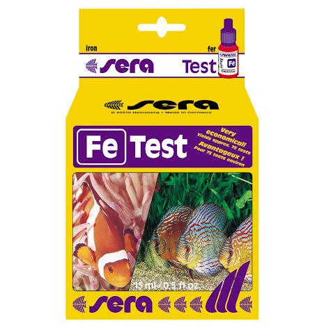 Fe-test Järn