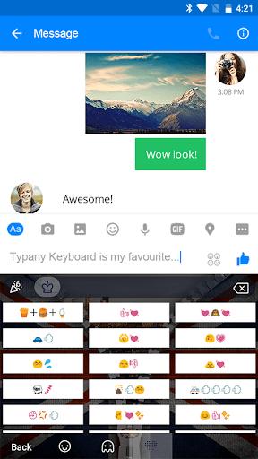 Zipper UK Flag Theme Keyboard  screenshots 4