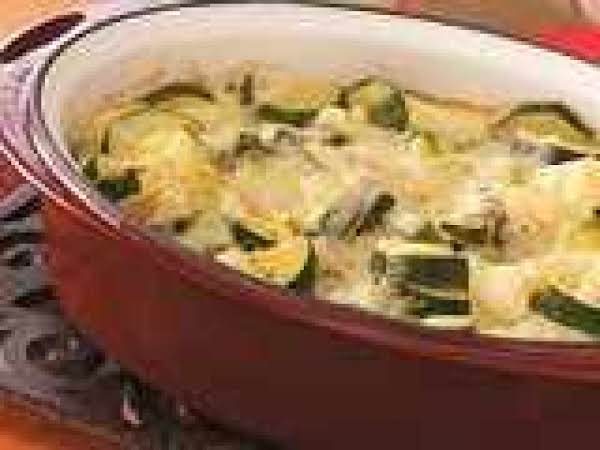 Scalloped Zucchini Squash Recipe