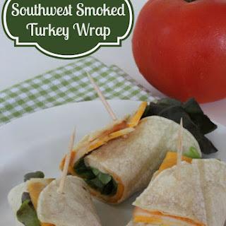 Southwest Smoked Turkey Wrap
