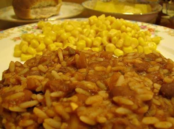 Beans And Rice, I Used Pinto Instead Of Red Beans In This Pic