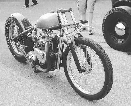 Drag Pré-Unir T110 engine and rigid frame. Ready for the Drag race.