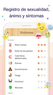 Calendario Menstrual - Fertilidad y Ovulacion Screenshot