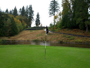 Photo: Druids Glen Hole No 12. Looking back up to tee box.