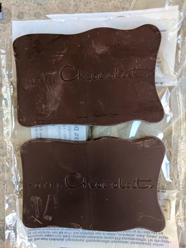 85% hotel chocolate bar open