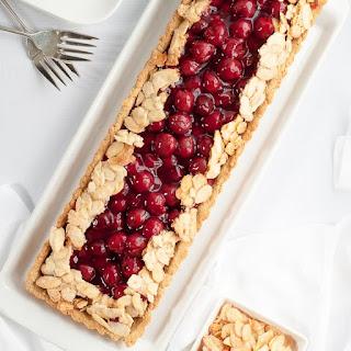 Gluten Free Sour Cherry Almond Tart Recipe