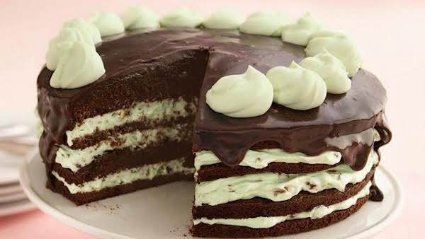 Pistachio Mousse Brownie Torte Recipe