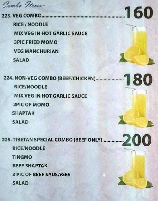 Peace Restaurant menu 11