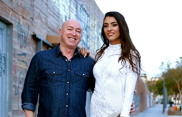 Paco Wandosell junto a Ana García Segundo.