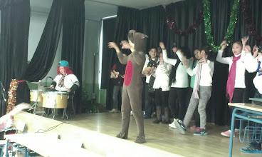 Photo: Actuación de 3º: Rodolfo el reno de la nariz roja
