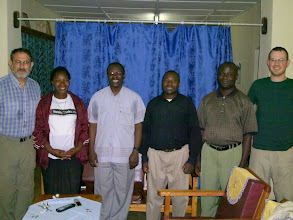 Photo: Meeting Fr. Bernard in Muhororo