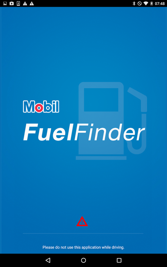 Mobil Fuel FInder- screenshot