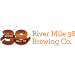 Logo for River Mile 38 Brewing Co.
