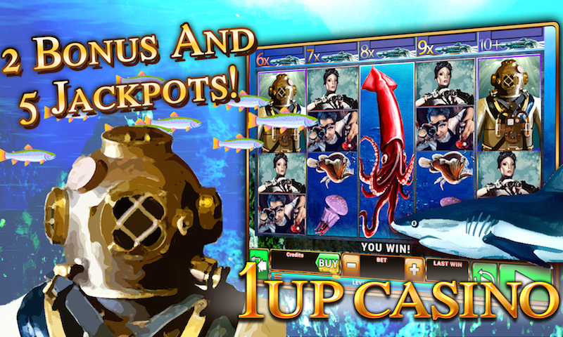 Slot Machines - 1Up Casino- screenshot