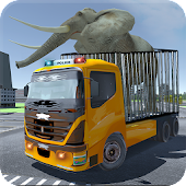 Wild Animals Police Truck Game